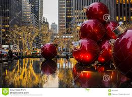 ornaments in a nyc editorial image image