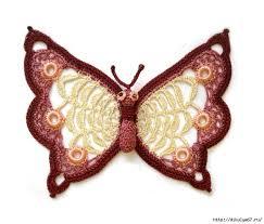 lovely crochet butterfly pattern crochet kingdom