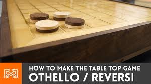 how to make othello reversi table top game i like to make stuff