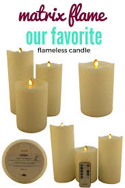 our new favorite how gorgeous are these flameless candles matrix