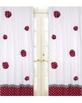 Red Polka Dot Curtains Alert Amazing Deals On Red And White Curtains