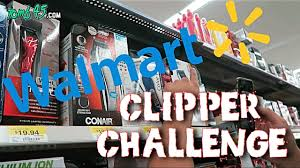 walmart clipper challenge barber tutorial with home clippers