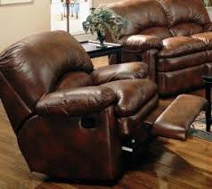 Brown Bonded Leather Sofa Leather Sofa Recliners Foter
