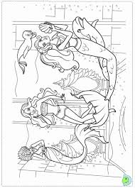 barbie mermaid coloring pages coloring home