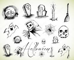 easy halloween drawings for kids