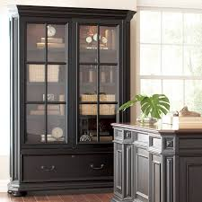 Bookcase With Doors Plans by Amazon Com Allegro Sliding Door Bookcase Cabinet Kitchen U0026 Dining