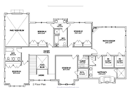 new home layouts design new mansion floor plans 3 bungalow home house
