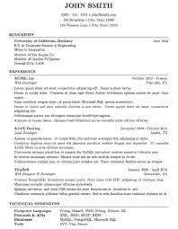 Current Job Resume by Fast Cover Letter