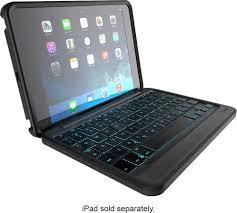 Rugged Ipad Case With Keyboard Zagg Rugged Book Keyboard Folio Case For Apple Ipad Mini Ipad
