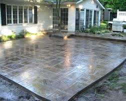 simple concrete patio designs patio concrete designs pictures