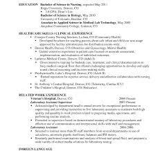 entry level resume templates resume template lovely sle nursing with hospital of
