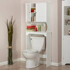 Bathroom Toilet Cabinet Riverridge Ellsworth The Toilet Spacesaver White Walmart