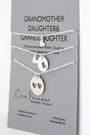 grandmother and granddaughter necklaces grandmother jewelry set gift for necklace