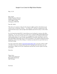 cover letter high students best how to make a cover letter