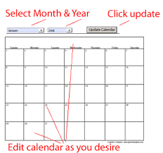free downloadable calendar template free calendar templates 2018 or any year