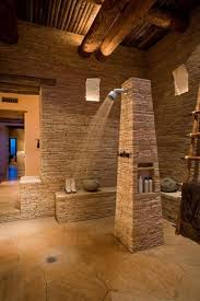 Awesome Natural Stone Bathrooms Home Design And Interior - Stone bathroom design