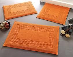 Orange Bathroom Rugs by Pleasing 10 Burnt Orange Bath Decor Decorating Design Of Best 25