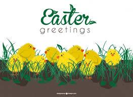 free greetings easter greetings card vector free