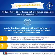 si e conseil europ n justice portail parquet européen 13 ministres de la justice de
