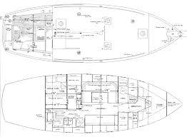 kadey krogen 38 review tandem centerboard gunkholer waves