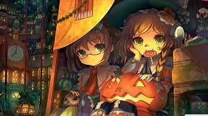 halloween background 1920x1080 halloween anime wallpaper wallpapersafari