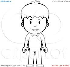 12 images of cartoon little boy coloring page boys standing clip