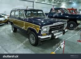 jeep grand wagoneer custom moscow september 16 jeep grand wagoneer stock photo 85907779