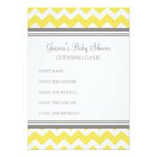 baby shower guessing baby shower guessing gifts on zazzle