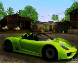 porsche concept 918 spyder porsche 918 spyder concept study for gta san andreas