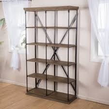 rustic bookcases you u0027ll love wayfair