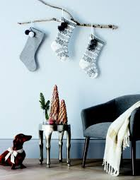 11 creative ways to hang christmas stockings without a fireplace