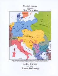 Europe Map During Ww1 History