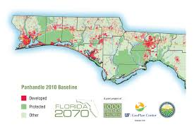Map Of The Florida Panhandle by Download The 2070 Project