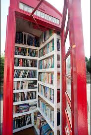 Phone Booth Bookcase What A Novel Idea Villagers Transform Redundant Phone Box Into A