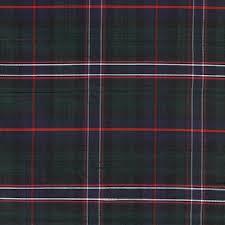 tartan pattern tartan silk the national tartan fabric by james hare britannia rose