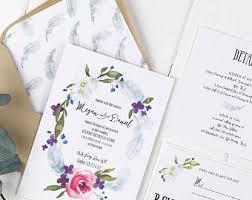 shabby chic wedding invitations shabby chic invites etsy