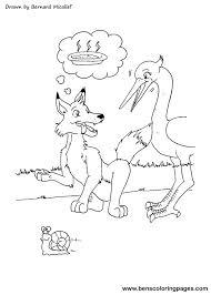 wolf stork story