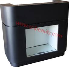 reception desk can you say cool pinterest reception desks Reception Desk With Display
