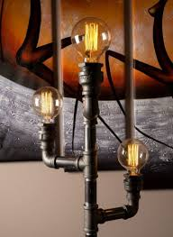 edison style floor l floor ls vintage floor l industrial style lighting iron pipe