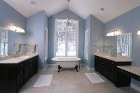 bathroom painted makeup vanity what color paint goes with brown