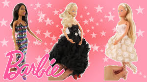 Barbie Home Decor by Barbie Simba Doll Fashion Party Gown Pretty Dress Red Heels Make