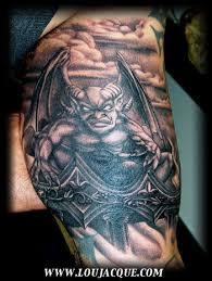 for unique dark images tattoos tattoos black and grey gargoyle