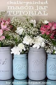 Mason Jar Floral Centerpieces A Mason Jar Centerpiece Picmia