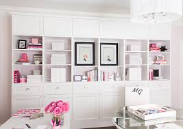 Ikea Usa Bookshelves by Pretty Bookshelves And Storage Using 3 Ikea Besta Double Bookcases