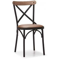 chaise m tal industriel chaise metal et cuir best chaise design en cuir et pieds mtal