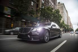 mercedes dealership inside the 2018 mercedes benz s class takes manhattan by storm the drive