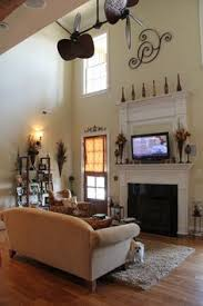 Story Open Family Room  Great Room Decorating Ideas SHADOW - Two story family room decorating ideas
