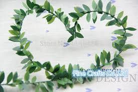 leaf ribbon artificial leaf ribbon promotion shop for promotional artificial
