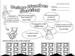 prime number sorting a year 6 factors u0026 multiples worksheet