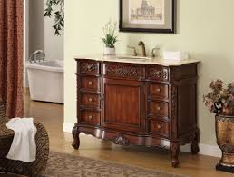 45 Bathroom Vanity 45 All Wood Construction Classic Style Brookdale Bathroom Sink